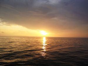 GBR sunset