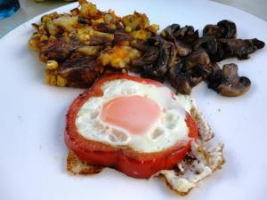 camping vego breakfast