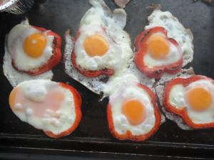 capsicum egg rings