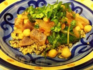 quinoa amaranth tagine