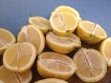 lemons halved