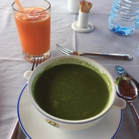Sri Lanka DG green herbal soup