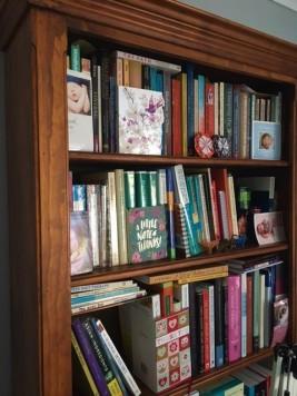 Launceston clinic bookshelf
